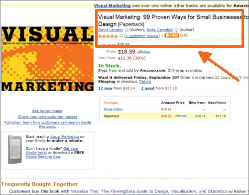 Visual Marketing Amazon